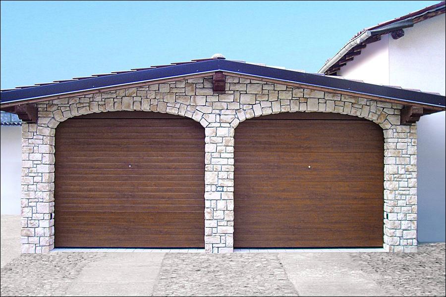 Szekcionált garázskapuk bármilyen alakú nyíláshoz