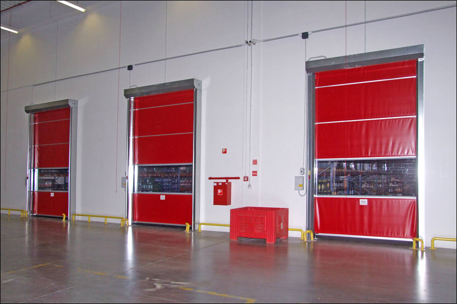 DITEC ipari gyorskapuk a CBA Alsónémedi logisztikai központjában
