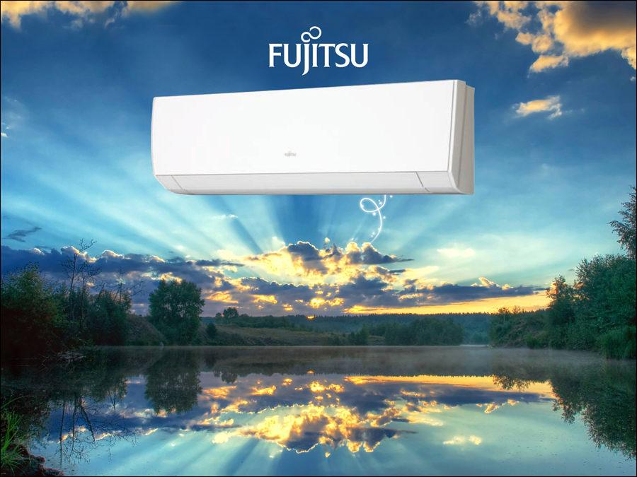 Eredeti japán Fujitsu klíma az energiatakarékos csúcstechnológia