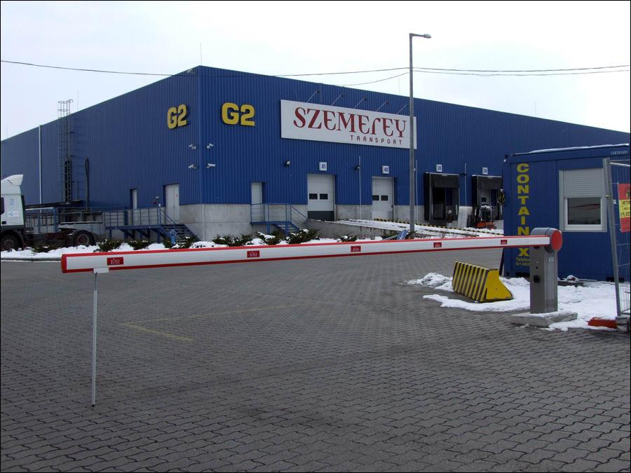 DITEC sorompó a Szemerey Transport ZRt-nél
